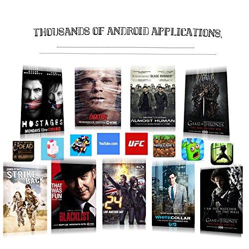 Android 6.0 TV Box,2017 Modell GooBang Doo T95X Streaming Media Player Amlogic S905X 64 Bits mit vollständig beladen KODI, Apps - 5