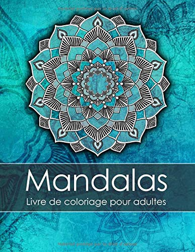 Livre de coloriage pour adultes: Mandalas par Topo Coloring Book