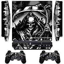 Piel diseñador para Sony PlayStation PS3 SLIM Sistemas y controladores remotos -Reaper
