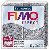 Staedtler - Fimo Effect - Pain Pâte à Modeler 57 g Effet Pierre Gris Granit