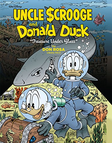 "Walt Disney Uncle Scrooge And Donald Duck: ""Treasure Under Glass"": The Don Rosa Library Vol. 3 (Walt Disney Uncle Scrooge and Donald Duck: the Don Rosa Library, Band 3)"