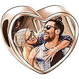 Soufeel Personalisiert Photo Charms Damen Beads Anhänger Liebesumarmung 925 Sterling Silber Rosegold Vergoldet