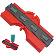 10 Inch Contour Gauge Duplicator Template Tool, Plastic Profile Gauge Shape Copying Measure Tool for Precise Copies Irregula
