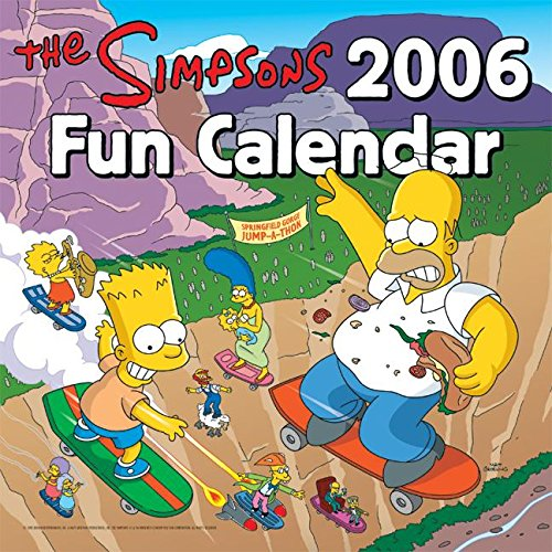 Click for larger image of The Simpsons 2006 Fun Calendar