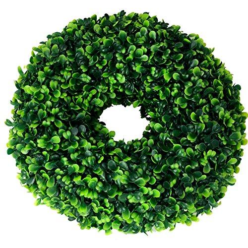 ∅ 30 cm künstlicher Kranz Buchsbaum (CLASSIC) Türkranz Tischkranz