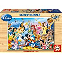 "Educa Borras 12002 ""The Wonderful World of Disney Puzzle (100-Piece)"