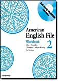 American English File Level 2: Workbook with Multi-ROM Pack (American English File First Edition)