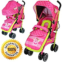 iSAFE OPTIMUM Stroller + Free Rain Cover- Many Designs! (Mea Lux)