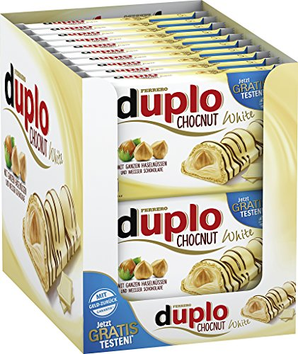 Duplo Chocnut White Limited Edition, 20er Pack (20 x 130g)