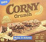 CORNY Crunch Hafer & Schoko, knackiger Müsliriegel, 9er Pack (9 x 120g Schachtel mit je 3 x 2 Riegeln)