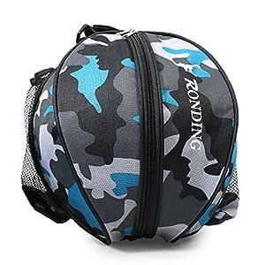 Lixada Basketball Borsa Rotonda a Tracolla Borsa Rotonda per Ball Sport Pallone da Calcio pallavolo Borsa da Viaggio per Uomini e Donne