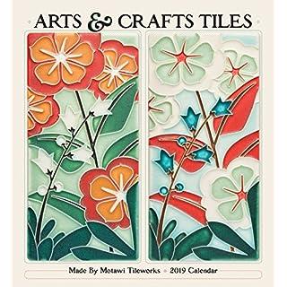 Arts & Crafts Tiles 2019 Wall Calendar