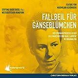 Fallbeil f?r G?nsebl?mchen: Der Spionageprozess gegen Elli Barczatis und Karl Laurenz