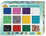 Hama-Sortierbox mit ca. 9.600 Perlen