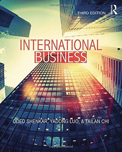 International Business por Oded Shenkar