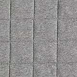 Fabulous Fabrics Steppstoff Jersey Konfetti Melange - grau
