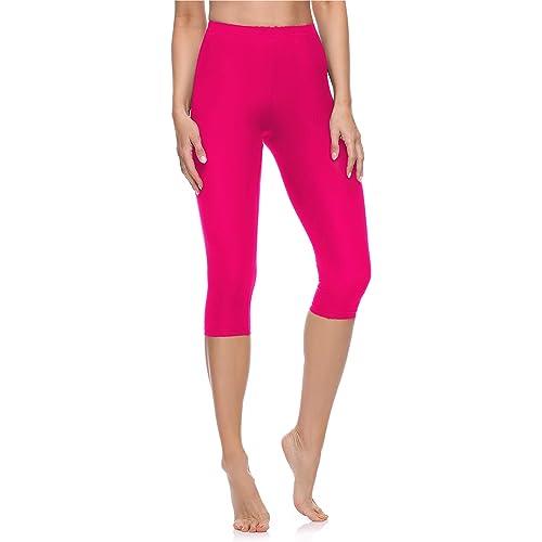 Merry Style Leggings 3/4 Pantaloni Capri Donna MS10-199