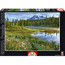 Educa 16309 - Puzzle 1500 Pezzi, Tematica Rainier National Park, Usa