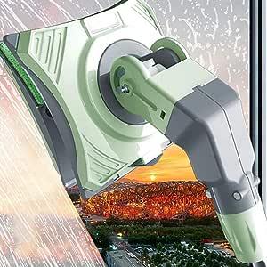 WYFWYT Laveur de vitres magnétique Double Face, Lave-vitre, Nettoyeur vitre, Nettoyant de vitres magnétique Double-Face, essuie-Glace, Outils de Nettoyage 5-26mm