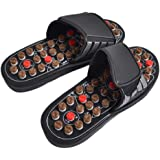 HEALIFTY Foot Massagers Slippers Acupressure Massage Slippers for Relief Pain 1pair (Size 39)
