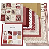 Designpapier-Block, Größe 30,5x30,5 cm, 50 Seiten, Copenhagen, 50Blatt