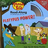 Phineas and Ferb Read-Along Storybook and CD Platypus Power!