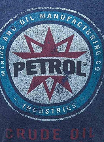 Petrol Industries Longsleeve Blau (Dark Indigo)