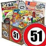 24er Allerlei | Geschenkbox | Zahl 51 | DDR Geschenke Mutti