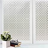 Bfeplfashion Decorative Privacy Frosted Window Glass Film Sticker Home Bathroom Waterproof - 3#