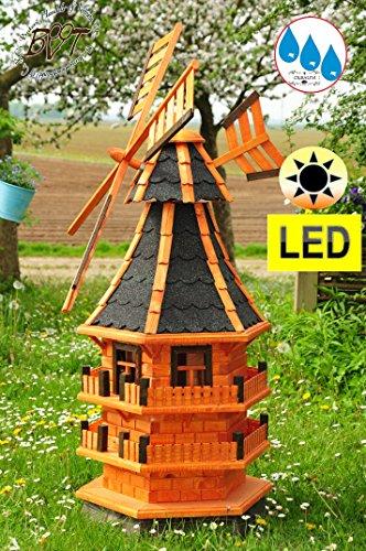 Gartenwindmühlen groß 140 cm