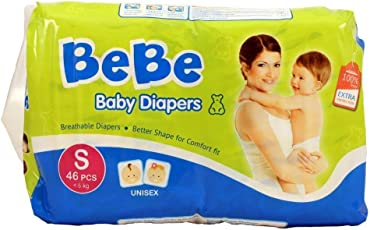 Bebe Baby Diaper Small 46pcs