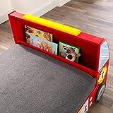 KidKraft 76031 Feuerwehrauto Kinderbett aus Holz für Kleinkinder Möbel für Kinderzimmer Test