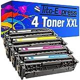 PlatinumSerie® 4 Toner-Patronen XL für HP CE410X CE411A CE412A CE413A Laserjet Pro Color 300 M351A MFP M375NW 400 M451DN M451DW M451NW M475DN M475DW