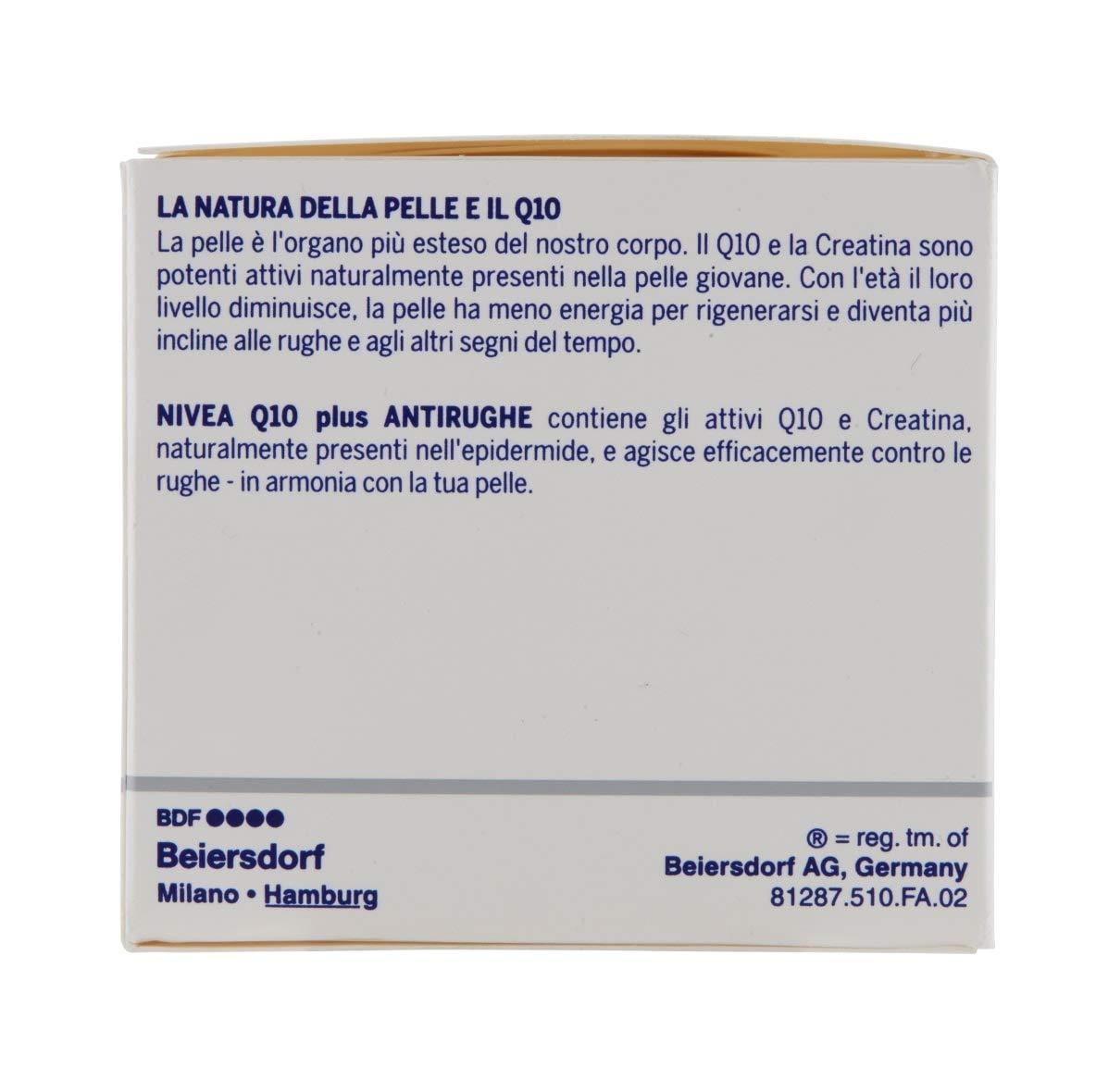 Nivea Q10 Plus SPF 15 Crema de día antiarrugas, 50 ml