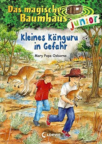 Das magische Baumhaus junior - Kleines Känguru in Gefahr: Band 18