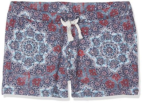 s.Oliver Mädchen Shorts 73.706.75.5955, Mehrfarbig (Blue Aop 58A4), 152 (Herstellergröße: M)