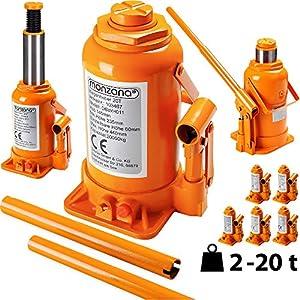 Monzana® Wagenheber hydraulisch bis 5 Tonnen