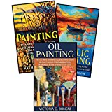 Painting: 3 in 1 Masterclass Box Set: Book 1: Painting + Book 2: Acrylic Painting + Book 3: Oil Painting (Painting - Painting