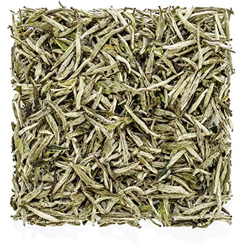Tealyra - Premium White Silver Needle Tea - Bai Hao Yinzhen - Grown in Fujian China - Superior Chinese Silver Tip White Tea - Loose Leaf Tea - Caffeine Level Low - 100g