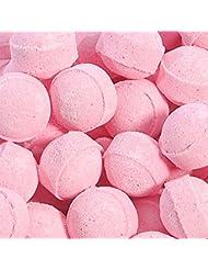 Sachet de 15 minis boules de bain effervescentes - Fraise