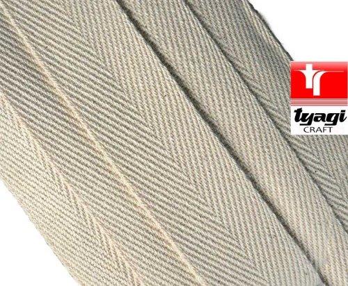 12mm Pure cinta algodón correa tienda etiquetas