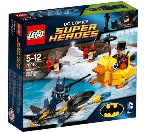LEGO Marvel Super Heroes Batman: The Penguin Face off - figuras de juguete para niños (Multicolor, Niño/niña)