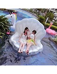 Smartlife adultos gigante piscina flotador Pearl carcasa de hinchable flotante de festón colchón tumbona perla bola flotante