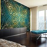 murando - Fototapete 250x175 cm - Vlies Tapete - Moderne Wanddeko - Design Tapete - Wandtapete - Wand Dekoration - Schmetterling Orient p-A-0004-a-c