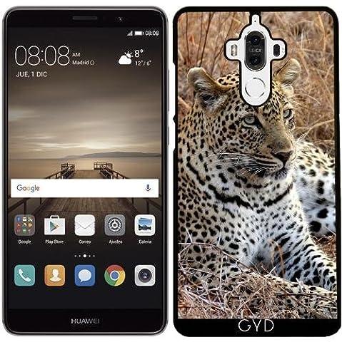 Hülle für Huawei Mate 9 - Leopardkatze Tiger Und Löwe by WonderfulDreamPicture