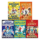 David baddiel 5 books collection pack set (parent agency,animalcolm,person controller,birthday boy,head kid [hardcover])