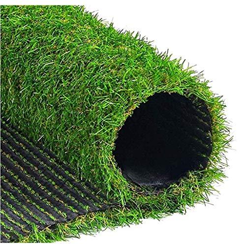 Mysida Artificial Grass WJ Künstliche Teppich-Rasen-Plastikfälschungs-Gras-künstliche Rasen-Matten-Kindergarten-Dekoration-Grün-Haushalt (Color : T 2cm, Size : 2 * 1m)