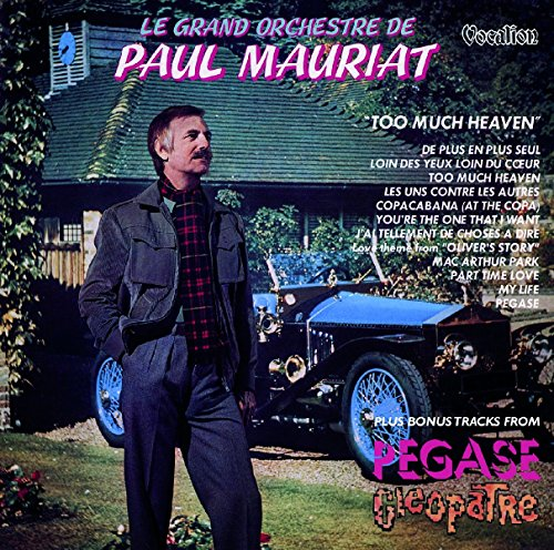 Paul Mauriat-cd (Too Much Heaven & Bonus Tracks)