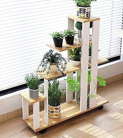 ZENGAI Porte-fleurs en intérieur Multifonctions Étagères des plantes décoration Pots