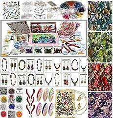 Idea Regalo - Pinze e perline per creare gioielli, Set per principianti